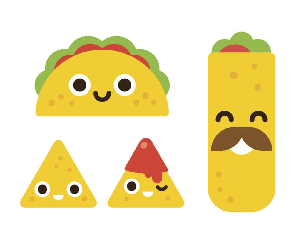 Cute mexican food