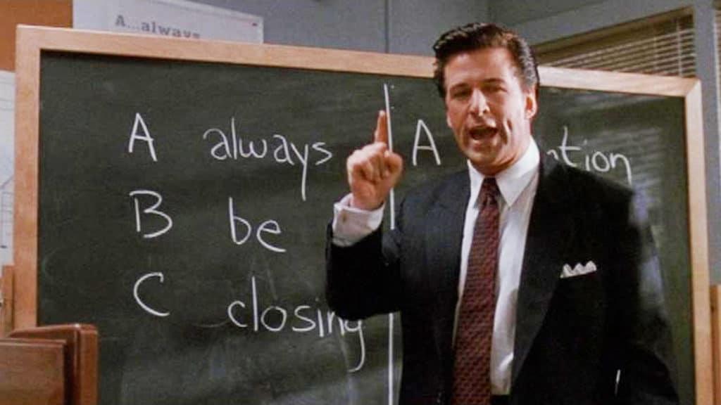 Always Be Closing Glengarry Glen Ross