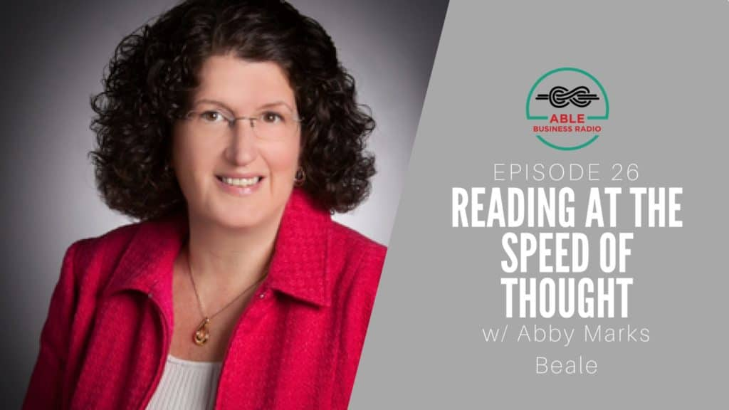 Abby Marks Beale Speed Reading