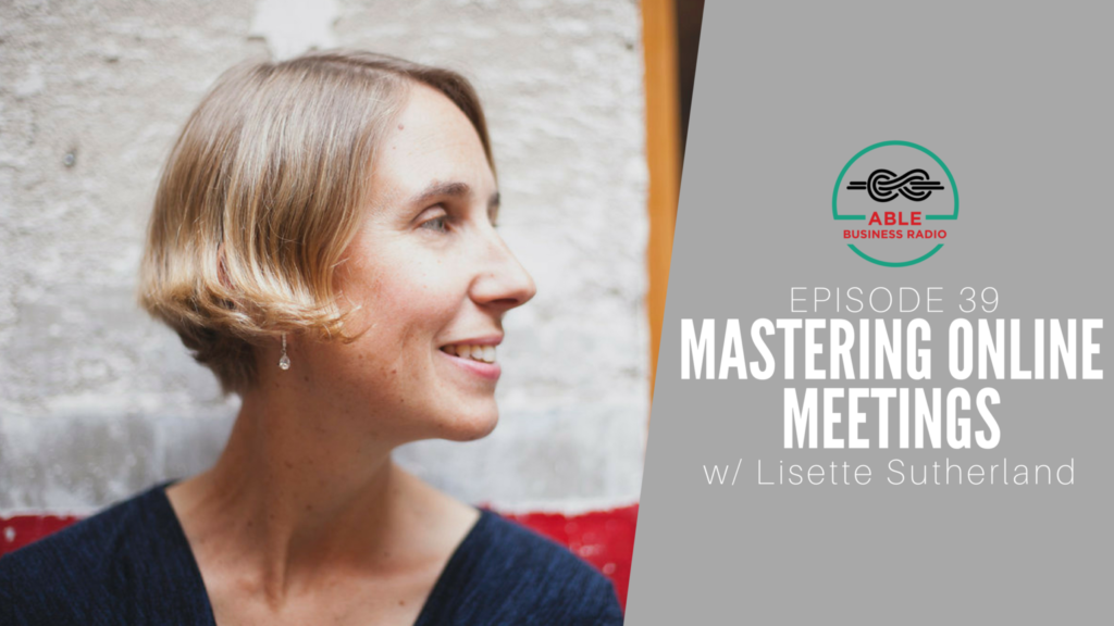 Lisette Sutherland Online Meetings Remote Teams