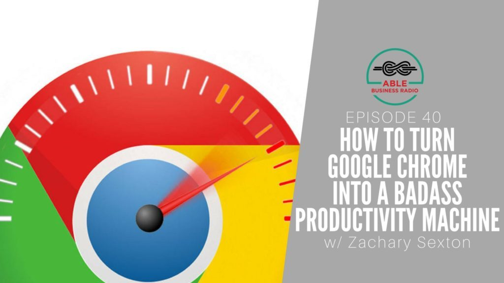 google chrome productivity