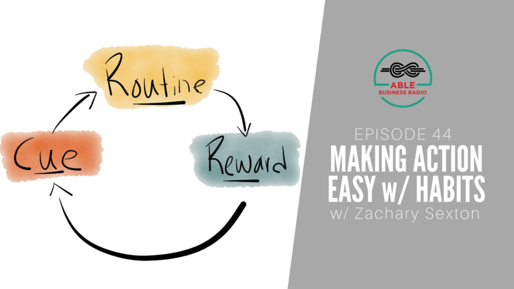 Making Action Easy w: Habits Zachary Sexton