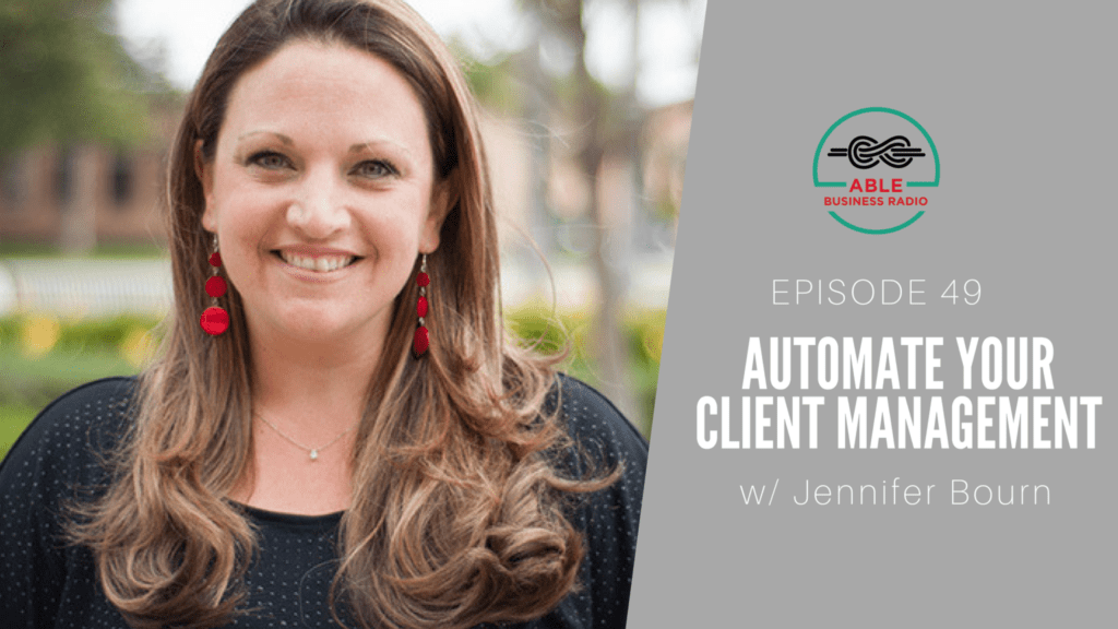 automate your client management jennifer bourn