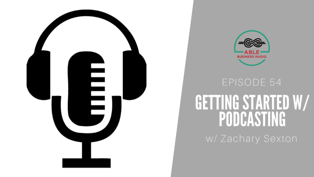 What to consider when starting a podcast Zachary Sexton
